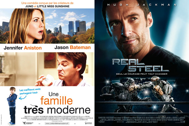 Une famille très moderne Real steel film