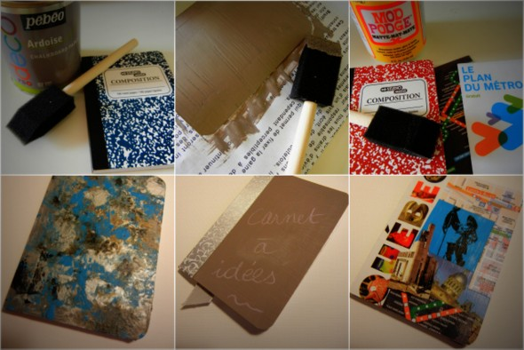 DIY - carnets customisés