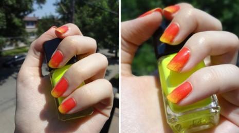 manucure-illamasqua-neon-jaune