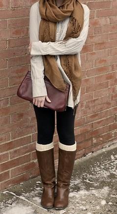 Mode automne / hiver: des jambières ultra-confortable | Blog Montreal Addicts