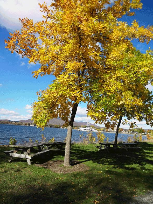 Les couleurs d'automne au Mont Orford Québec | Blog Montreal Addicts