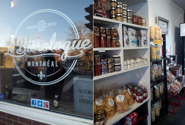 Le Bierologue Montreal épicerie spécialisée | Blog Montreal Addicts