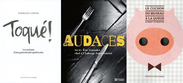 Livre Toqué, Audaces Eric Gonzalez, Cochon du museau à la queue | Blog Montreal Addicts