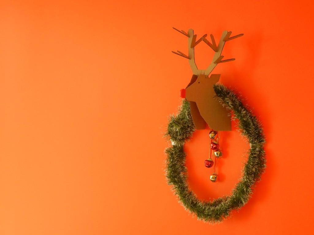 DIY le renne du Père Noël en carton ! | Crédits photo : Anne MA©
