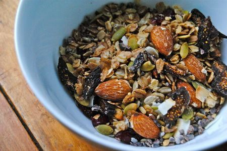 Granola du blogue Brutalimentation