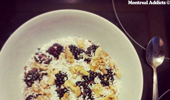 Granola maison | Blog Montreal Addicts