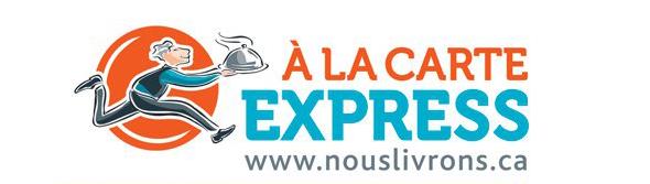 A la Carte Express, service de livraison à Montréal | Blogue Montreal Addicts