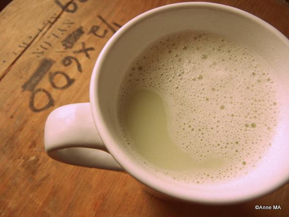 latté vanillé au thé matcha | Blogue Montreal Addicts