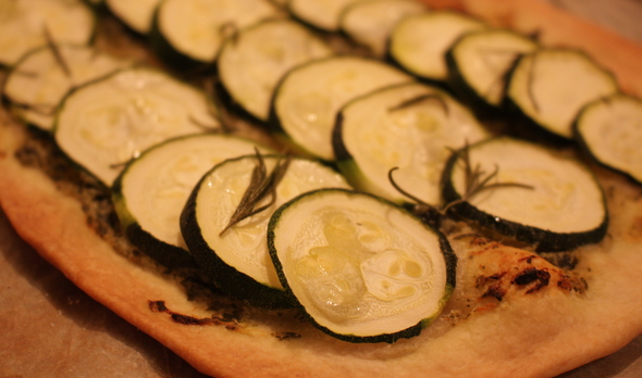 tarte fine aux courgettes | Blogue Montreal Addicts