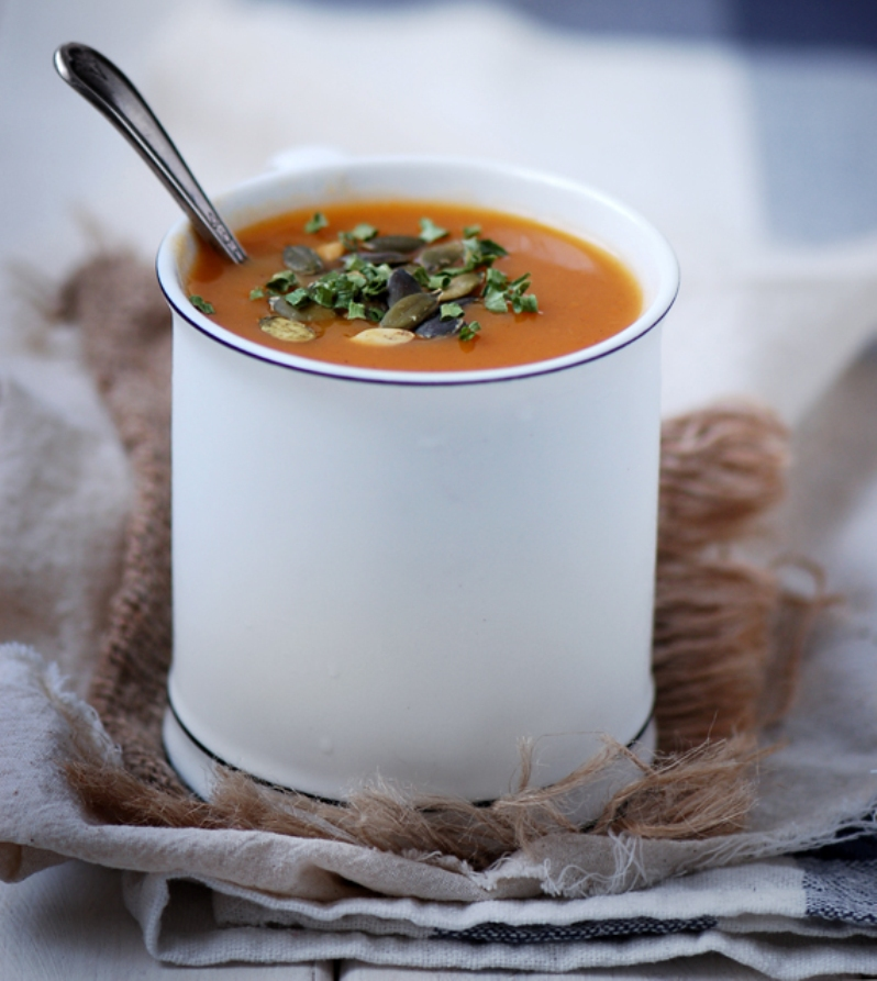 Soupe courge - @Madame Gateau - All rights reserved - soupe 1 | Blogue Montreal Addicts