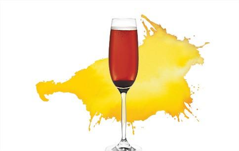 Cocktail pour les fêtes | Italian kir - Recette du cocktail  SAQ Espace Cocktail - Blog Montreal Addicts