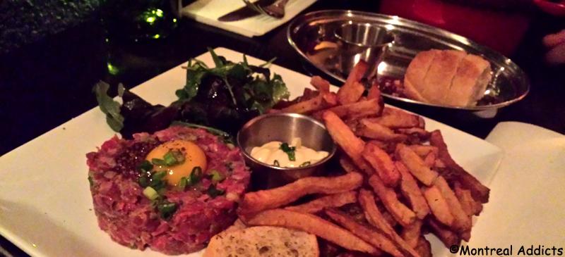 Tartare au Restaurant Chez Bouffe | Blog Montreal Addicts
