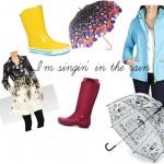 Shopping | Affronter la pluie en couleurs!
