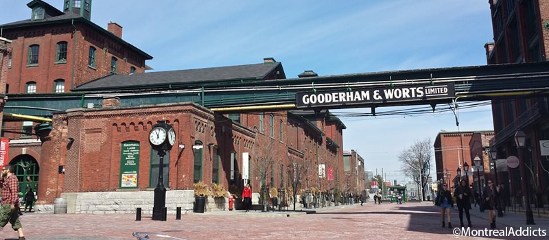 Toronto Distillery District | Blog Montreal Addicts