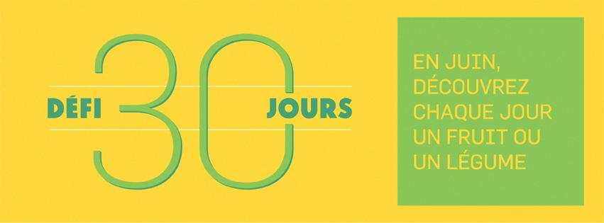 défi 30 jours fruits et légumes - le nutritionniste urbain - blog Montreal Addicts