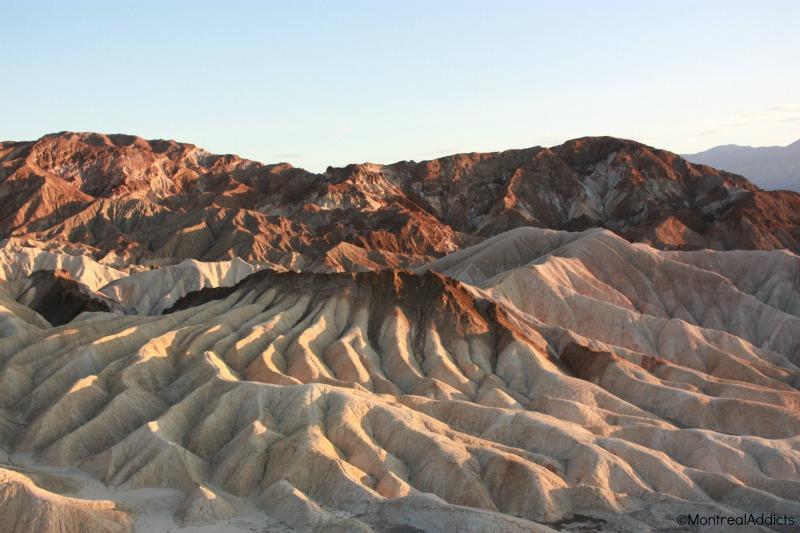 Death Valley Zabriskie point Californie - Blog Montreal Addicts