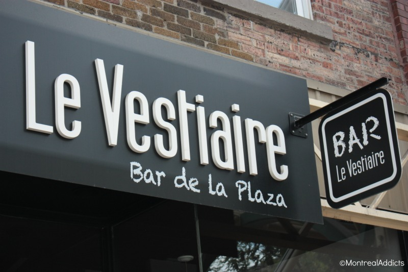 Le Vestiaire bar Plaza st-Hubert Blog Montreal Addicts
