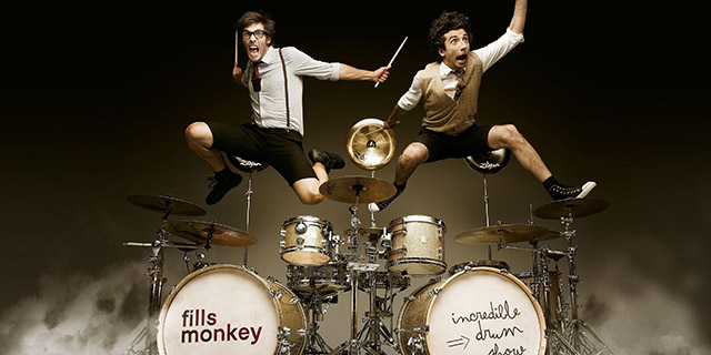 Incredible drum show Fills Monkey Zoofest 2014