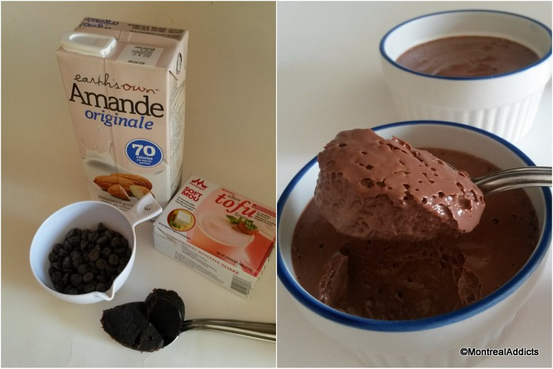 mousse au chocolat au tofu Blog Montreal Addicts