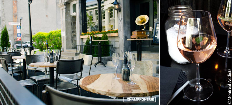 Terrasse La Champagnerie | Blog Montreal Addicts
