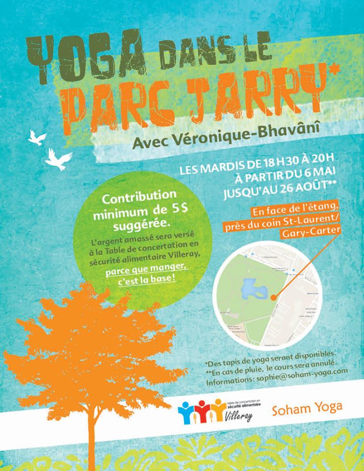 yoga plein-air parc Jarry
