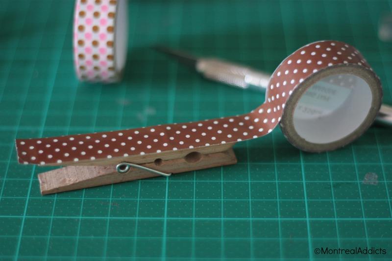 DIY spécial rentrée washi tape dollarama blog montreal addicts 3