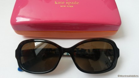 lunettes de soleil Iris Kate Spade Blog Montreal Addicts
