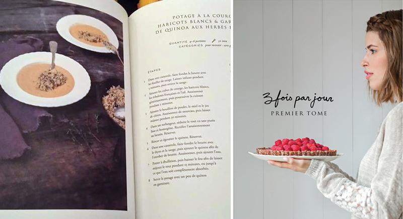 3 fois par jour Tome 1 le livre de cuisine par Marilou et Alexandre Champagne | Blog Montreal Addicts
