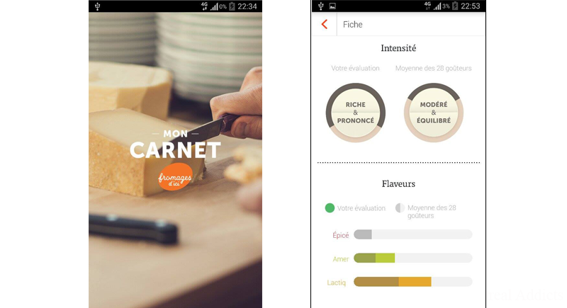 Application Mon Carnet Fromages d'Ici | Blog Montreal Addicts