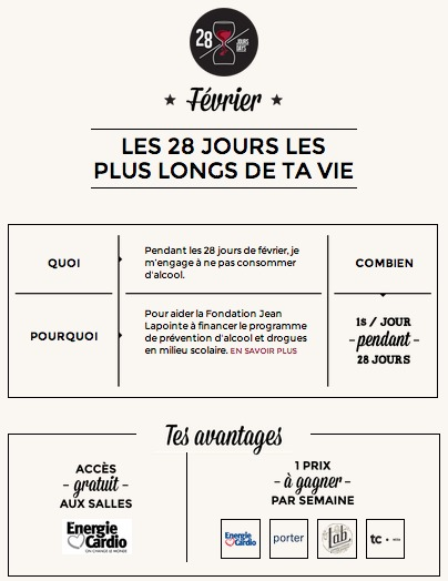 Défi28jours Fondation Jean Lapointe2