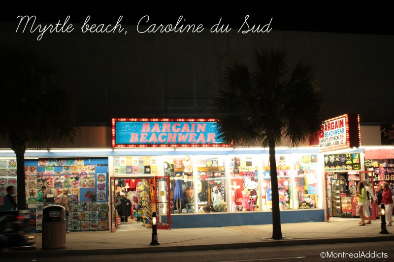 Myrtle beach escapade Caroline du Sud - Blog Montreal Addicts 3
