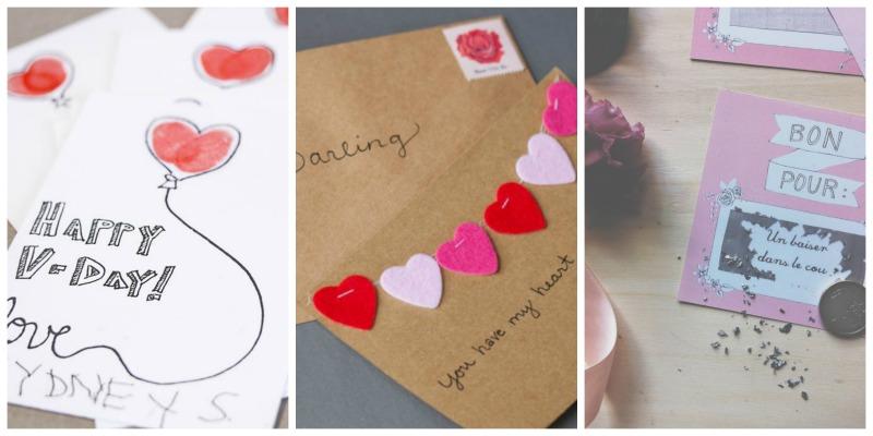 St-Valentin DIY cartes de souhaits - Blog Montreal Addicts