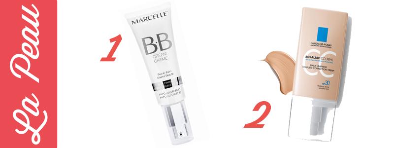 Crème BB Marcelle et crème CC La Roche Posay | Blog Montreal Addicts