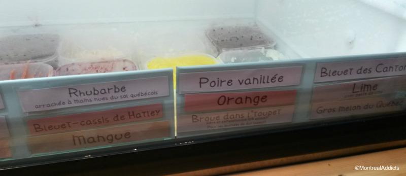 Les Givrés sorbets et crèmes glacées Blog Montreal Addicts
