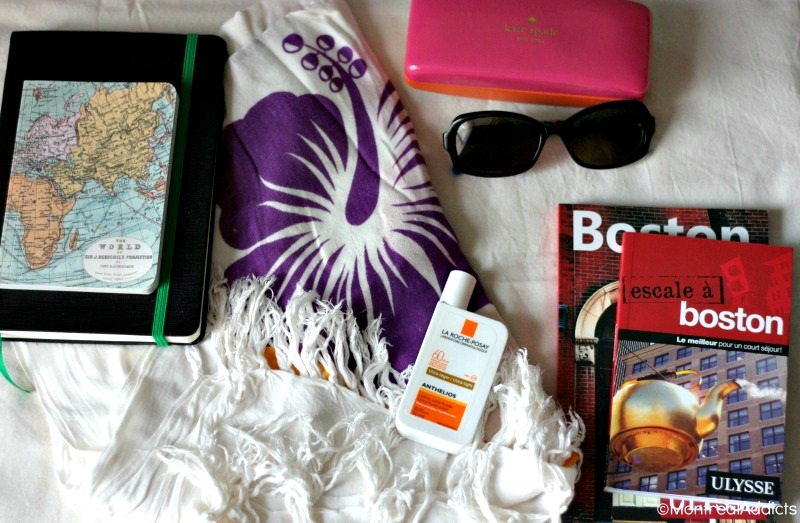 Mes essentiels en voyage - blog Montreal Addicts