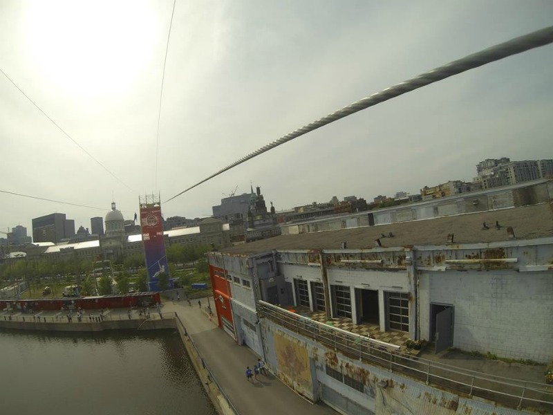 tyrolienne mtl zipline - Blog Montreal Addicts