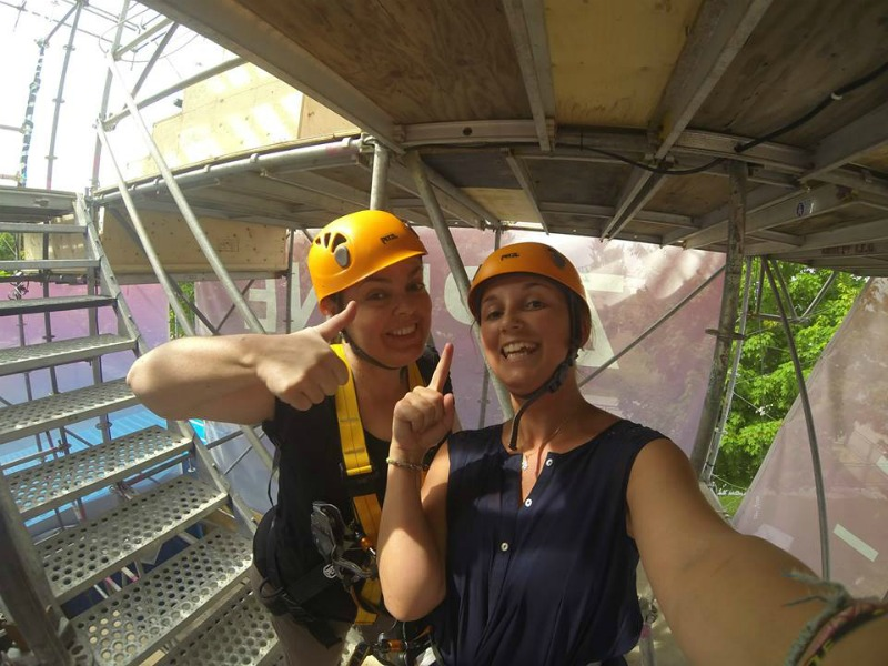 tyrolienne mtl zipline - Blog Montreal Addicts2