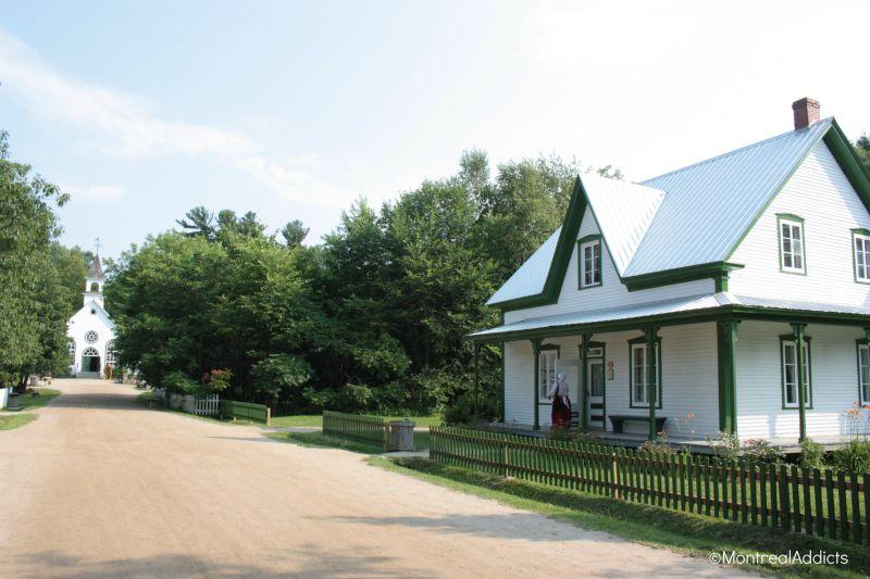 Le village québécois d'antan - Drummondville - Centre du Québec - Blog Montreal Addicts 2