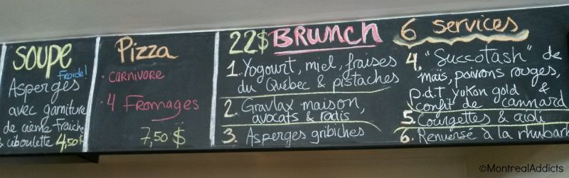 Brunch La Bête èa pain Ahuntsic rue Fleury - Blog Montreal Addicts