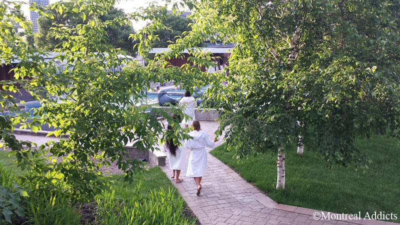 Jardins spa Bota Bota | Blog Montreal Addicts