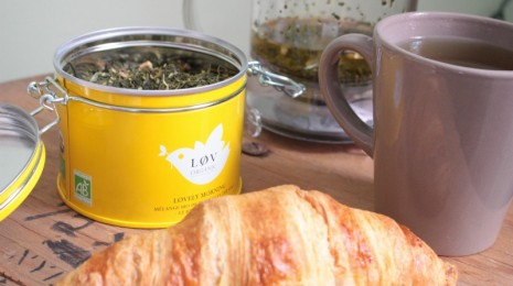 Lovely morning thé Lov Organic - Blog Montreal Addicts