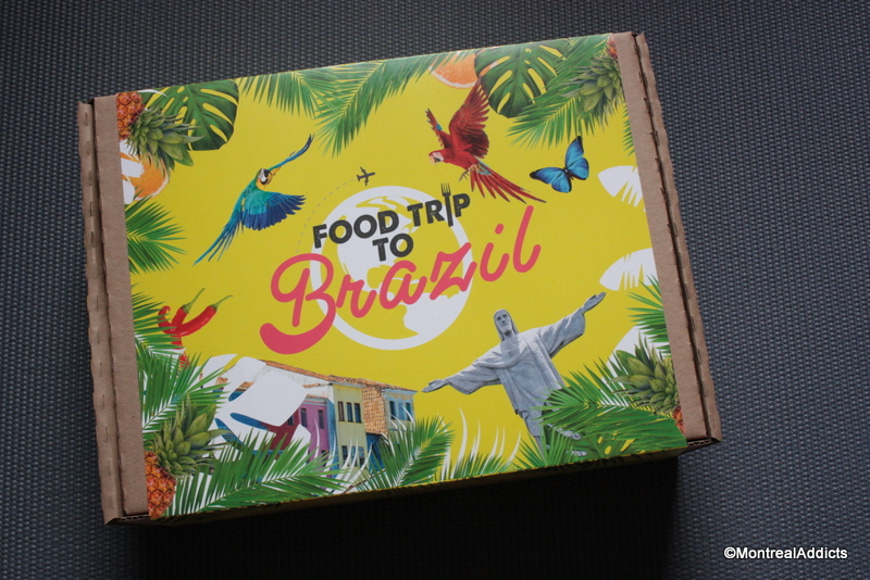 Coffret Food trip to - Blog Montreal Addicts
