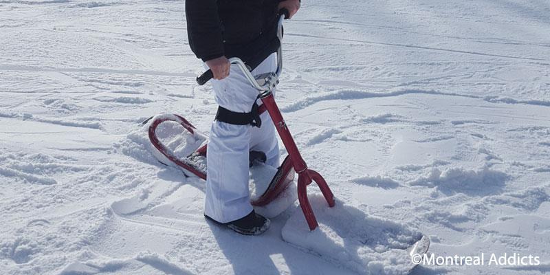 Snowscoot Mont St Bruno | Blog Montréal Addicts