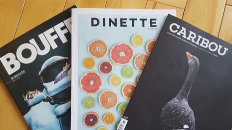 Magazine bouffe | Blog Montreal Addicts