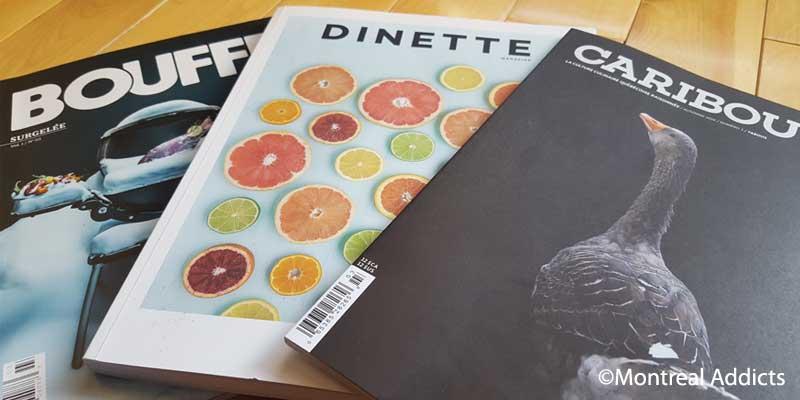Magazine bouffe | Blog Montreal Addicts