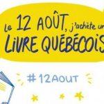 12 AOÛT   J'achète un livre québécois