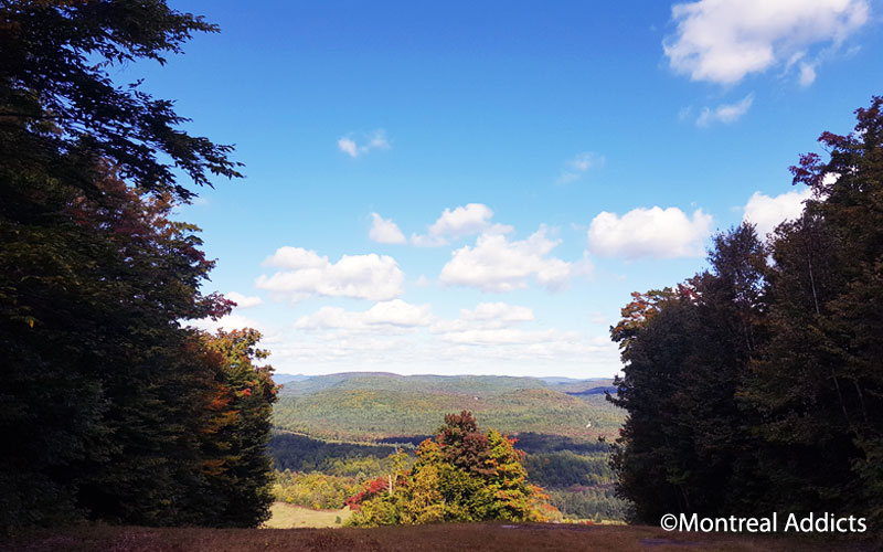 Ski Montcalm couleurs d'automne | Blog Montreal Addicts