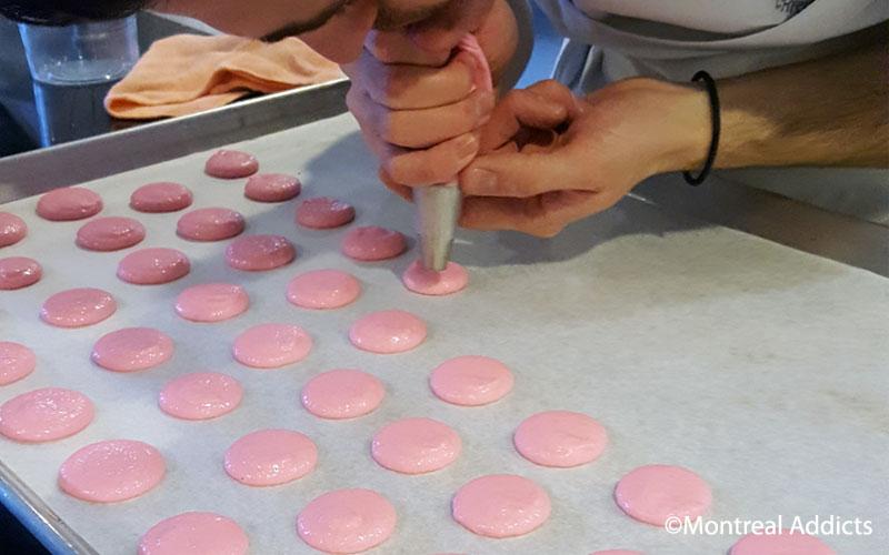 Cours de pâtisserie (macarons) à la Maison Christian Faure | Blog Montreal Addicts