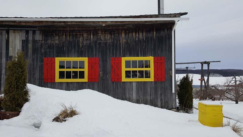 Cabane à pommes - Verger Labonté de la pomme | Montreal Addicts