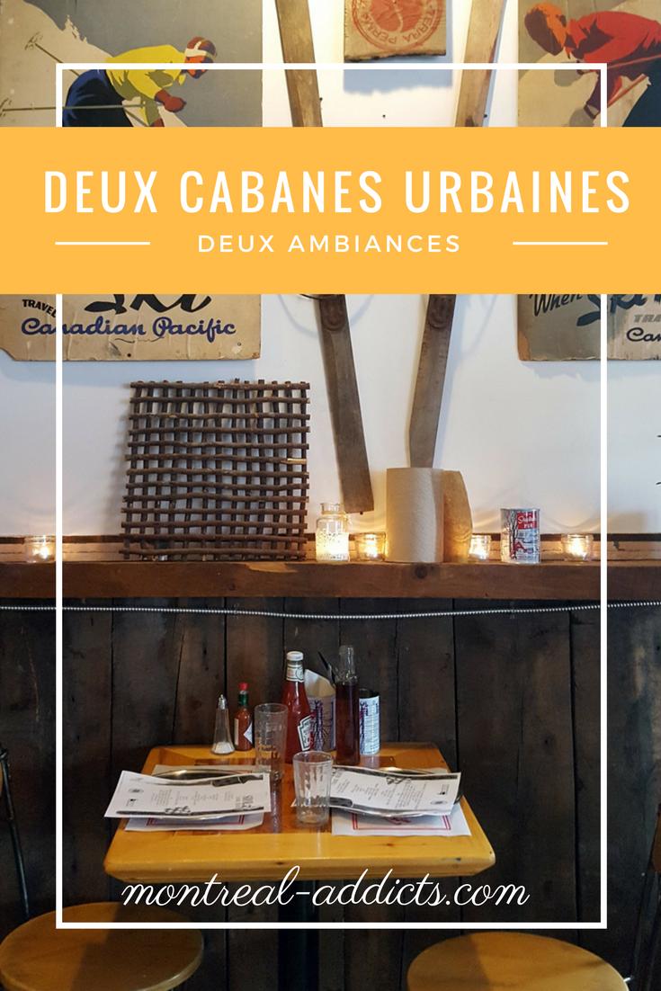 Deux cabanes à sucre urbaines | Montreal Addicts